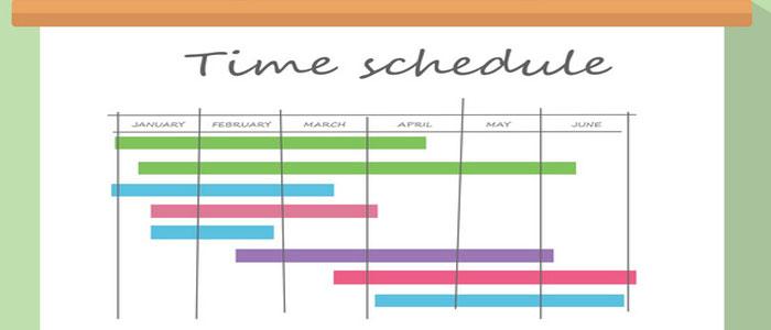 مدیریت زمانبندی پروژه project shedule management time